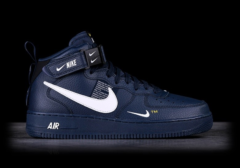 best loved 7d15e 1737a NIKE AIR FORCE 1 MID  07 LV8 OBSIDIAN