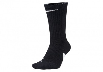 NIKE ELITE CREW SOCKS BLACK