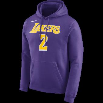 NIKE NBA LOS ANGELES LAKERS LONZO BALL HOODIE