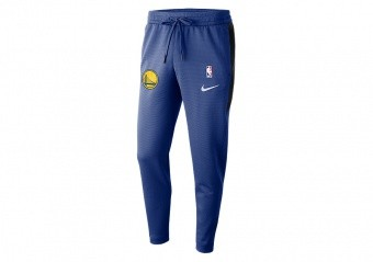 NIKE NBA GOLDEN STATE WARRIORS THERMAFLEX SHOWTIME PANTS RUSH BLUE