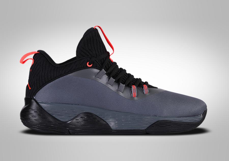 Buty Super Fly 2017 Low Nike Air Jordan (czarne) sklep