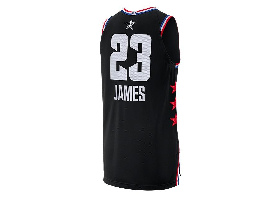 cca2cb907a1 NIKE AIR JORDAN NBA ALL STAR WEEKEND 2019 LEBRON JAMES AUTHENTIC JERSEY  BLACK price €189.00