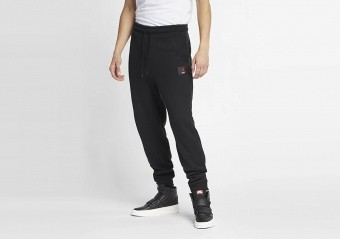 NIKE AIR JORDAN FLIGHT LOOPBACK PANTS BLACK