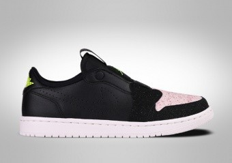 quality design 778b5 a4906 NIKE AIR JORDAN 1 RETRO LOW SLIP WMNS BLACK PINK