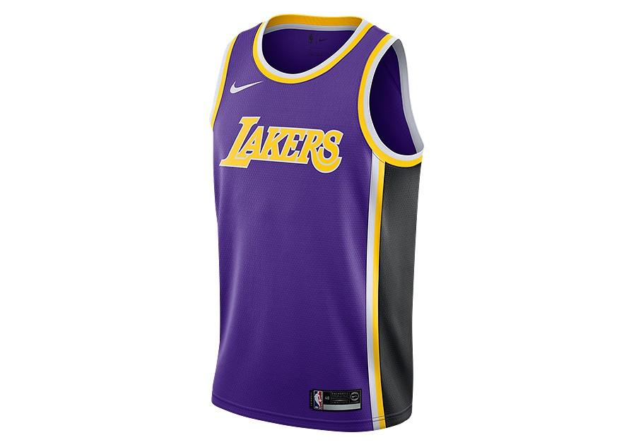 f6e0ec3314c3c NIKE NBA LOS ANGELES LAKERS SWINGMAN JERSEY FIELD PURPLE por €77
