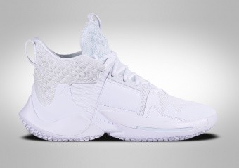 NIKE AIR JORDAN WHY NOT ZER0.2 TRIPLE WHITE R. WESTBROOK