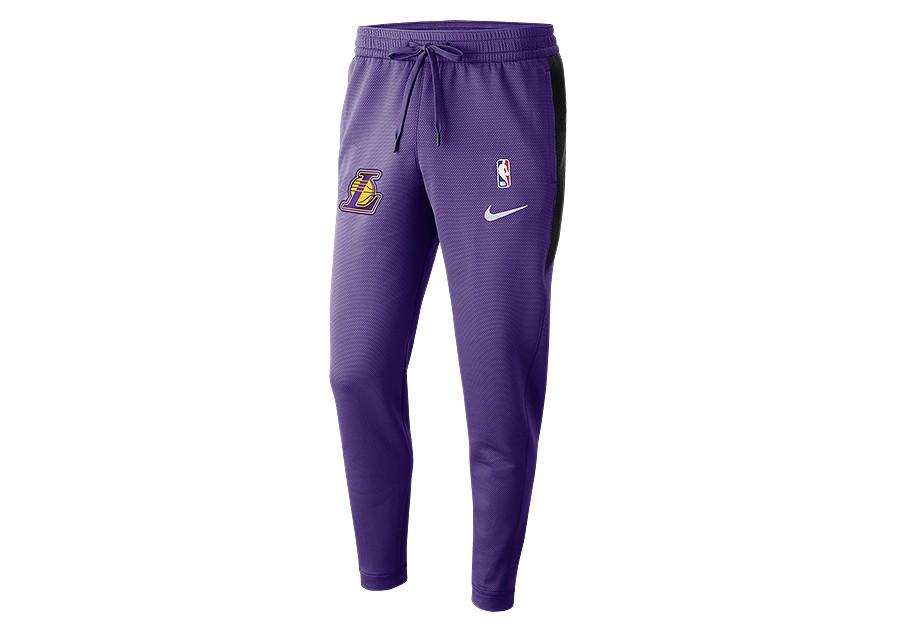 03e268c4557ff NIKE NBA LOS ANGELES LAKERS THERMAFLEX SHOWTIME PANTS FIELD PURPLE pour  €97,50 | Basketzone.net