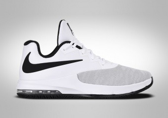 NIKE AIR MAX INFURIATE 3 LOW WHITE BLACK
