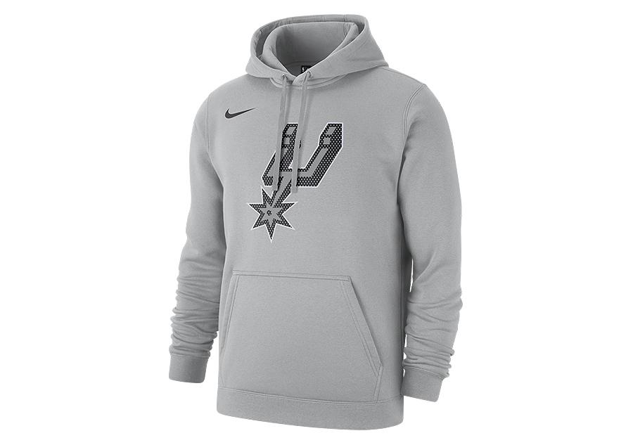 Nike NBA Toronto Raptors Logo Fleece Hoodie City Edition
