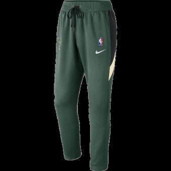 NIKE NBA MILWAUKEE BUCKS THERMAFLEX SHOWTIME PANTS