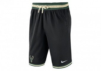 NIKE NBA MILWAUKEE BUCKS DNA SHORTS BLACK