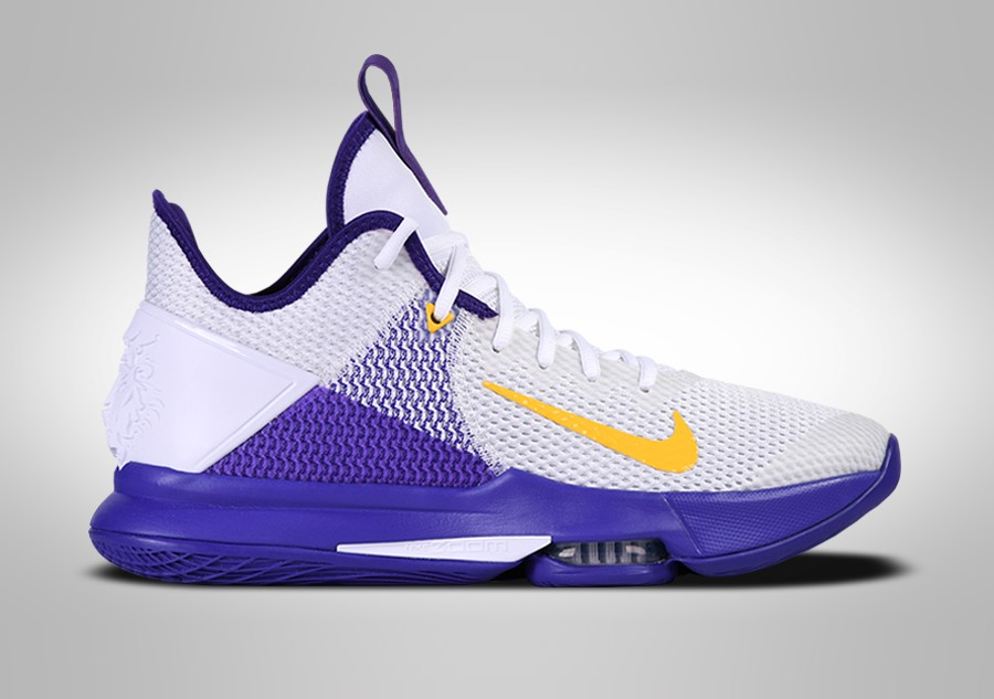 perdí mi camino Habitual A fondo  NIKE LEBRON WITNESS IV LAKERS price €87.50 | Basketzone.net