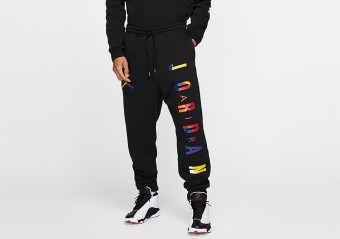 NIKE AIR JORDAN DNA HBR PANTS BLACK