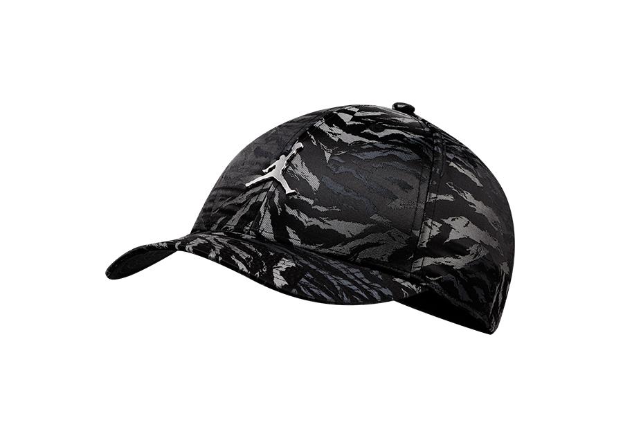 NIKE AIR JORDAN LEGACY91 CAMO CAP BLACK