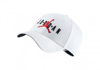NIKE AIR JORDAN LEGACY91 JUMPMAN AIR HAT WHITE