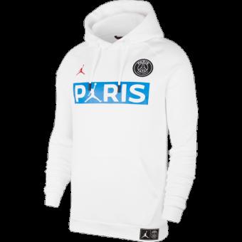 AIR JORDAN PSG PARIS SAINT-GERMAIN FLEECE PULLOVER HOODIE