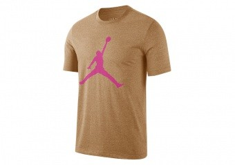 NIKE AIR JORDAN JUMPMAN TEE ELEMENTAL GOLD