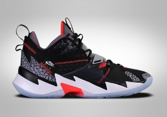 NIKE AIR JORDAN WHY NOT ZER0.3 GS BLACK CEMENT R. WESTBROOK