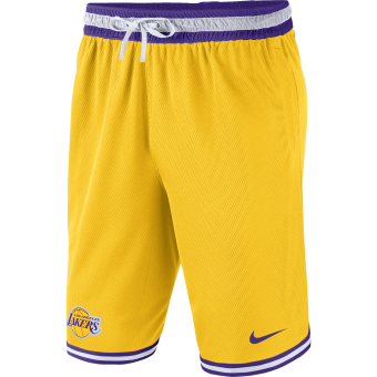 NIKE NBA LOS ANGELES LAKERS DNA SHORTS
