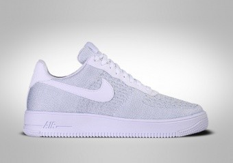 NIKE AIR FORCE 1 FLYKNIT 2.0 PURE PLATINIUM