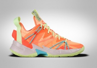 NIKE AIR JORDAN WHY NOT ZER0.3 SE GS ATOMIC ORANGE R. WESTBROOK