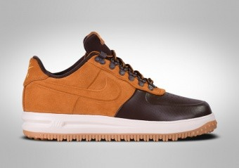 NIKE LUNAR FORCE 1 DUCKBOOT LOW BAROQUE BROWN