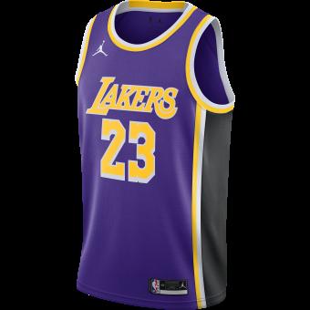 NIKE NBA LOS ANGELES LAKERS STATEMENT EDITION SWINGMAN JERSEY