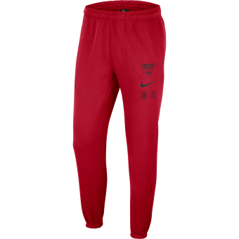 NIKE NBA CHICAGO BULLS COURTSIDE FLEECE PANTS