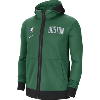 NIKE NBA BOSTON CELTICS SHOWTIME THERMA FLEX HOODIE