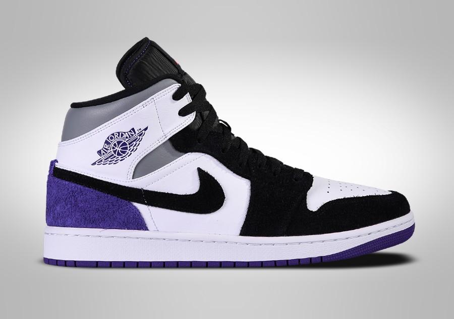 Soldes > nike aj1 court purple > en stock