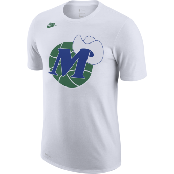 NIKE NBA DALLAS MAVERICKS CLASSIC EDITION LOGO DRI-FIT TEE