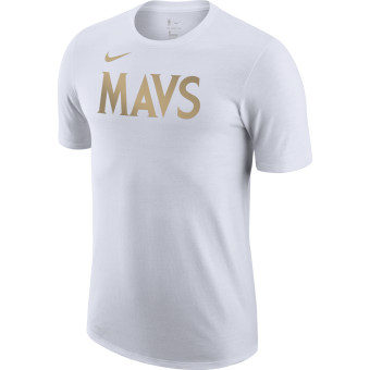NIKE NBA DALLAS MAVERICKS CITY EDITION LOGO DRI-FIT TEE
