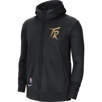 NIKE NBA TORONTO RAPTORS SHOWTIME CITY EDITION THERMA FLEX HOODIE