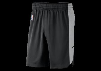 NIKE NBA BROOKLYN NETS PRACTICE SHORTS