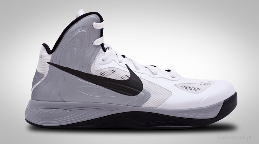 NIKE ZOOM HYPERFUSE 2012 WOLF GREY WHITE