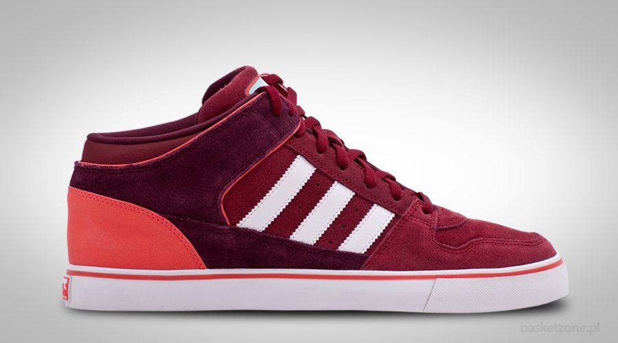 ADIDAS ORIGINALS CULVER VULC MID CHERRY