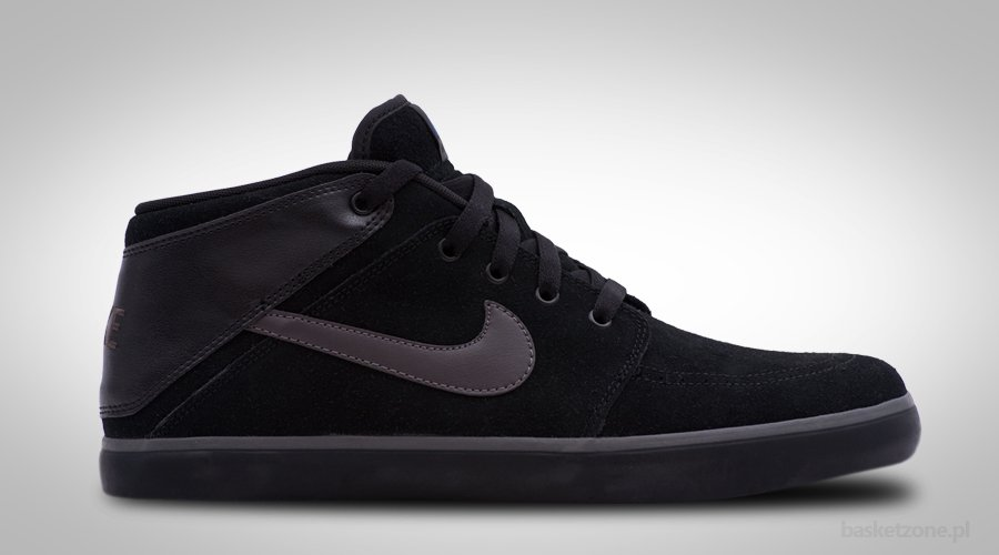 NIKE SUKETO MID LEATHER DIRTY BLACK
