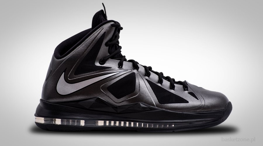 NIKE ZOOM LEBRON X BLACK DIAMOND STEALTH