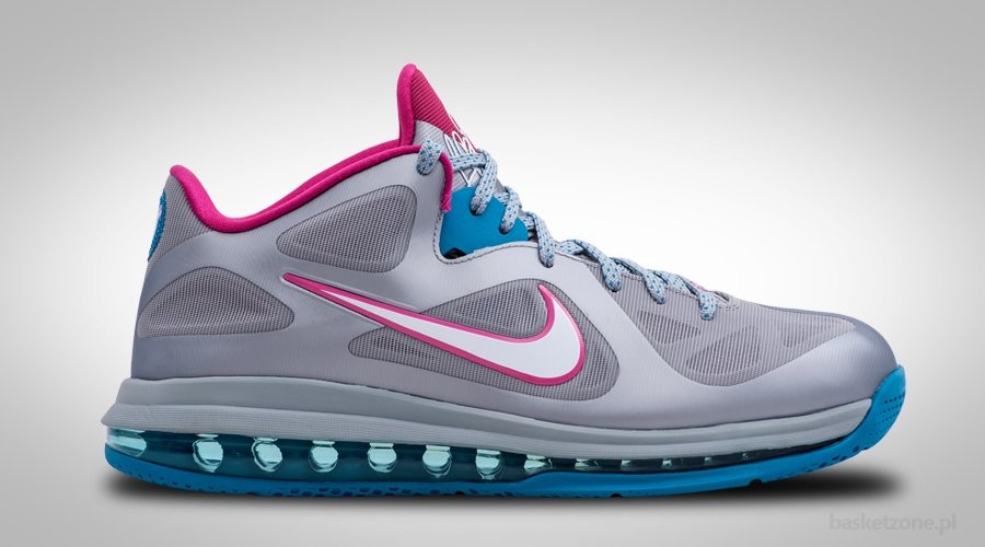 NIKE LEBRON 9 LOW FIREBERRY WBF