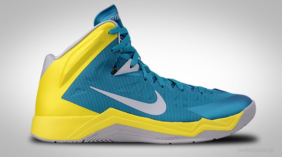NIKE ZOOM HYPERQUICKNESS TROPICAL TEAL