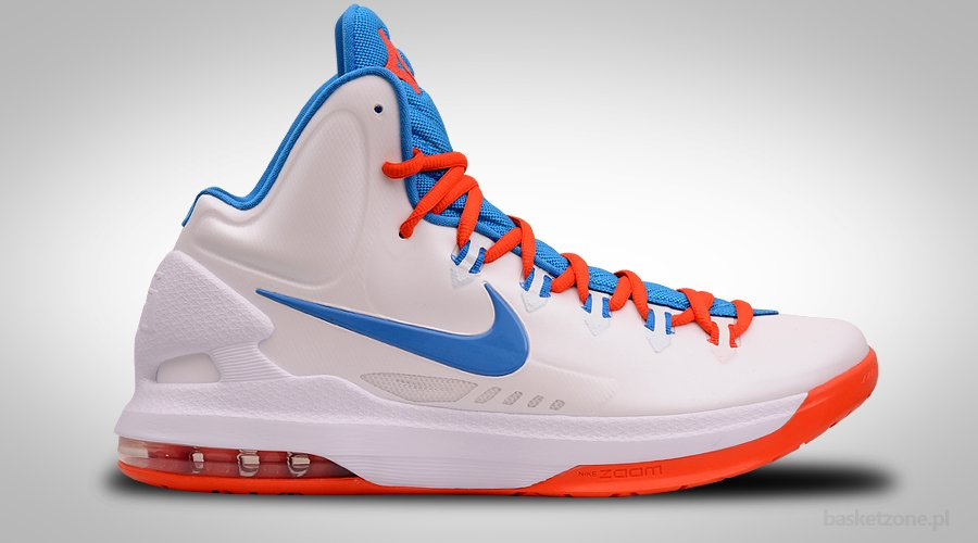 NIKE ZOOM KD V OKC HOME WHITE PHOTO BLUE