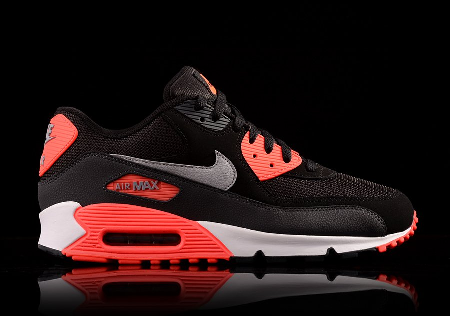nike air max 90 essential black and orange