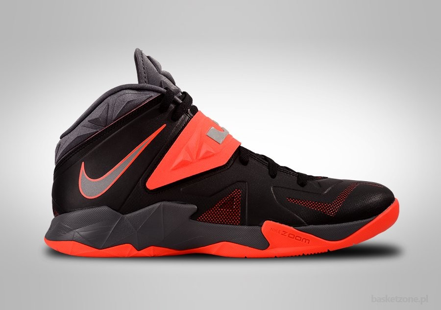 NIKE ZOOM LEBRON SOLDIER VII MIAMI HEAT AWAY
