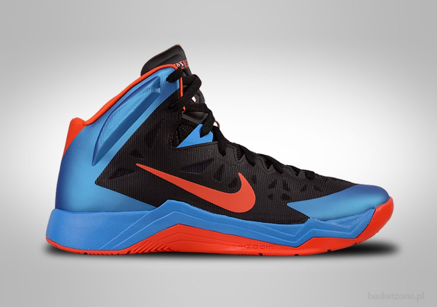 NIKE ZOOM HYPERQUICKNESS OKLAHOMA CITY THUNDER AWAY