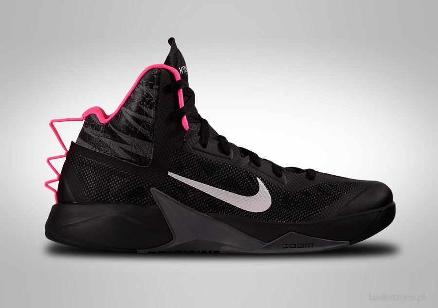 NIKE ZOOM HYPERFUSE 2013 BLACK PINK
