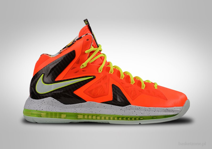 NIKE ZOOM LEBRON X P.S. ELITE TOTAL CRIMSON