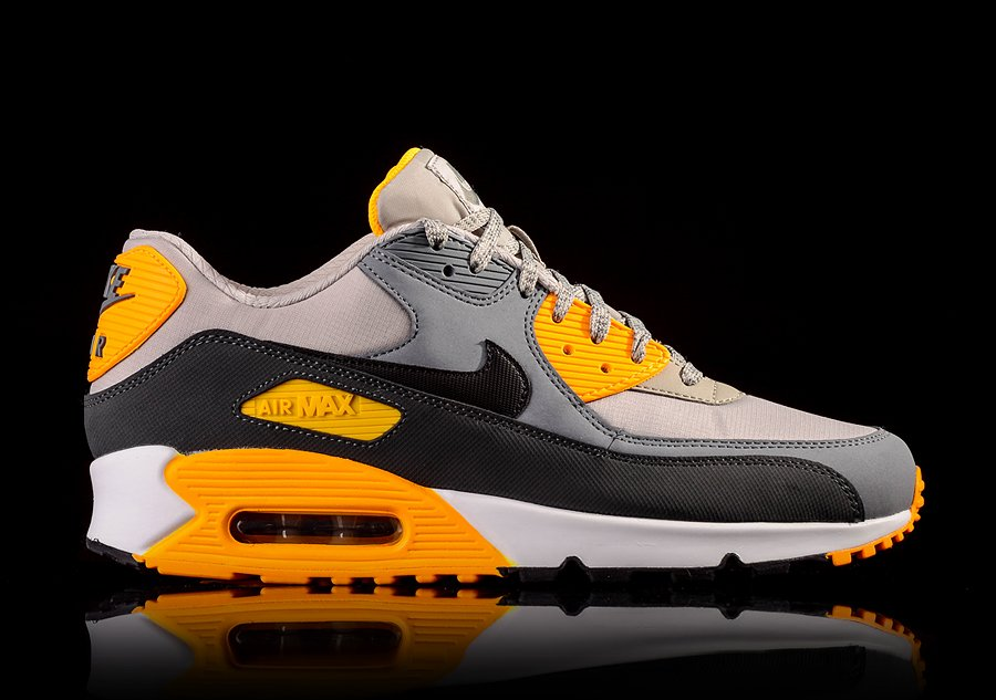 NIKE AIR MAX 90 ESSENTIAL PALE GREY BLACK