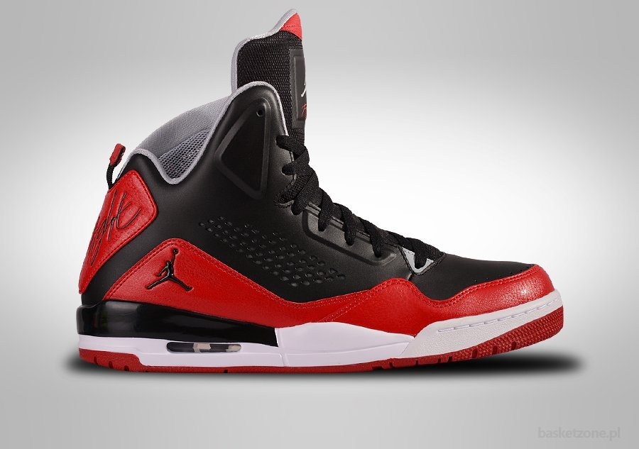 NIKE AIR JORDAN SC-3 BLACK GYM RED WOLF GREY