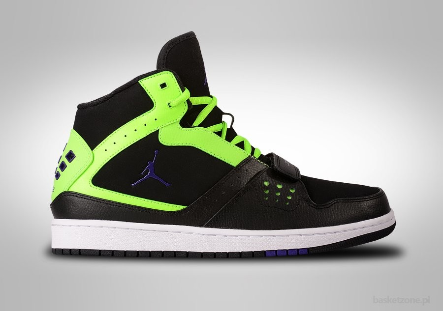 NIKE AIR JORDAN 1 FLIGHT STRAP FLASH LIME BEL-AIR
