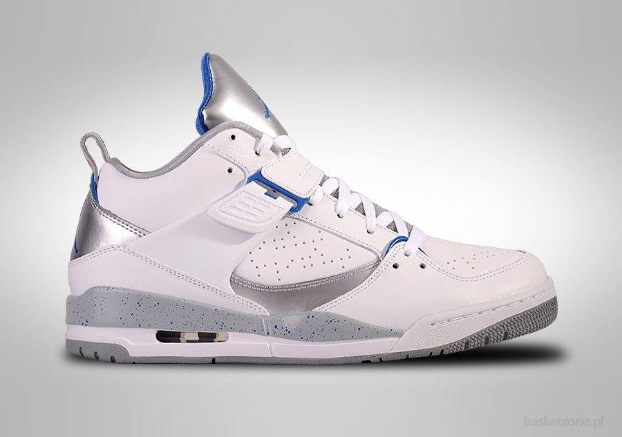 NIKE AIR JORDAN FLIGHT 45 WHITE SPORT BLUE